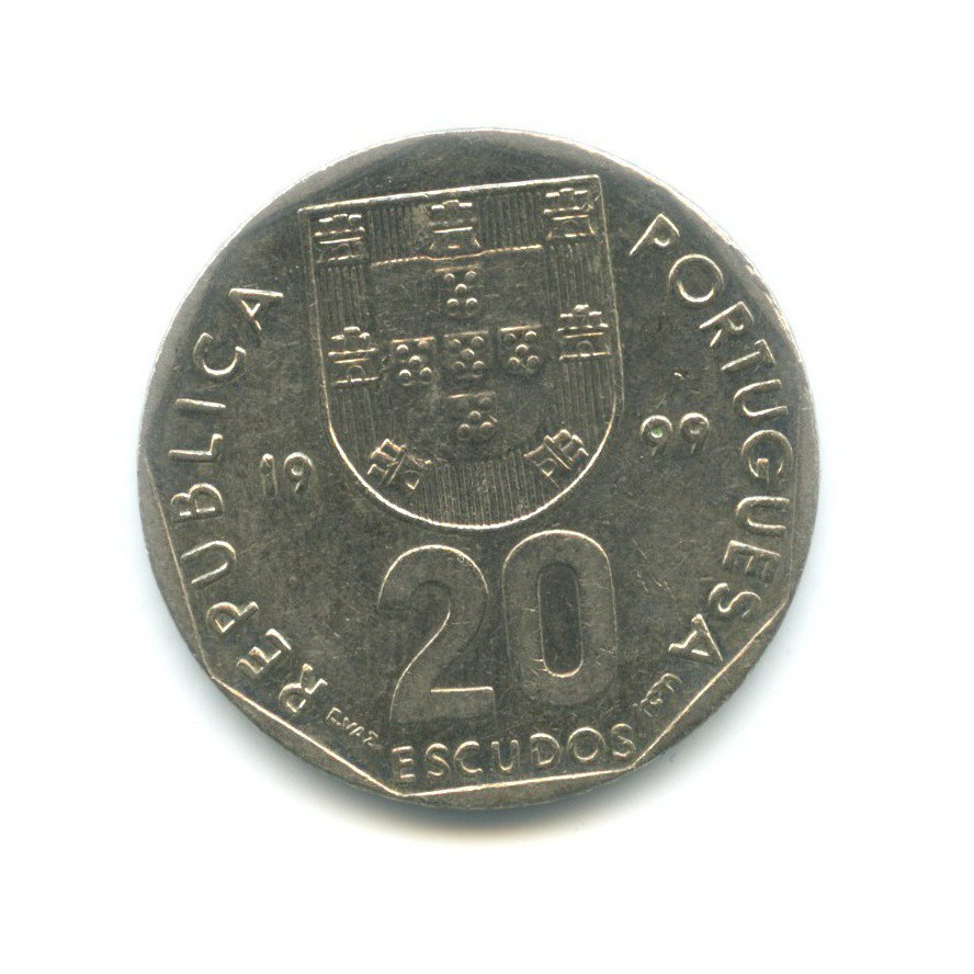 20 эскудо 1999 года (Португалия)