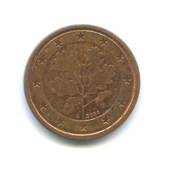 2 цента 2004 года G (Германия)