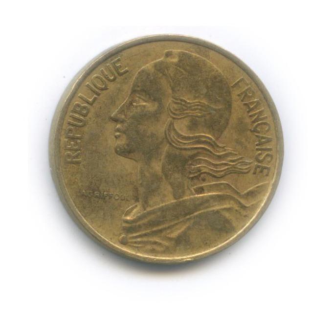 10 сантимов 1977 года (Франция)
