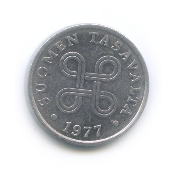 5 пенни 1977 года (Финляндия)