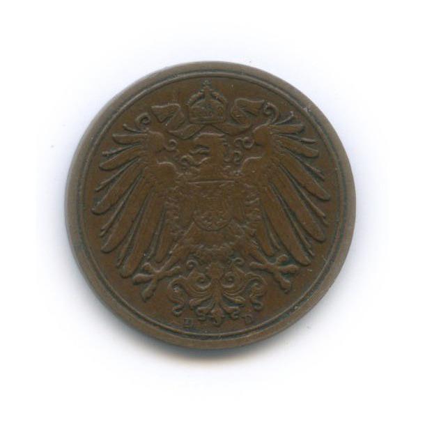 1 пфенниг 1911 года D (Германия)