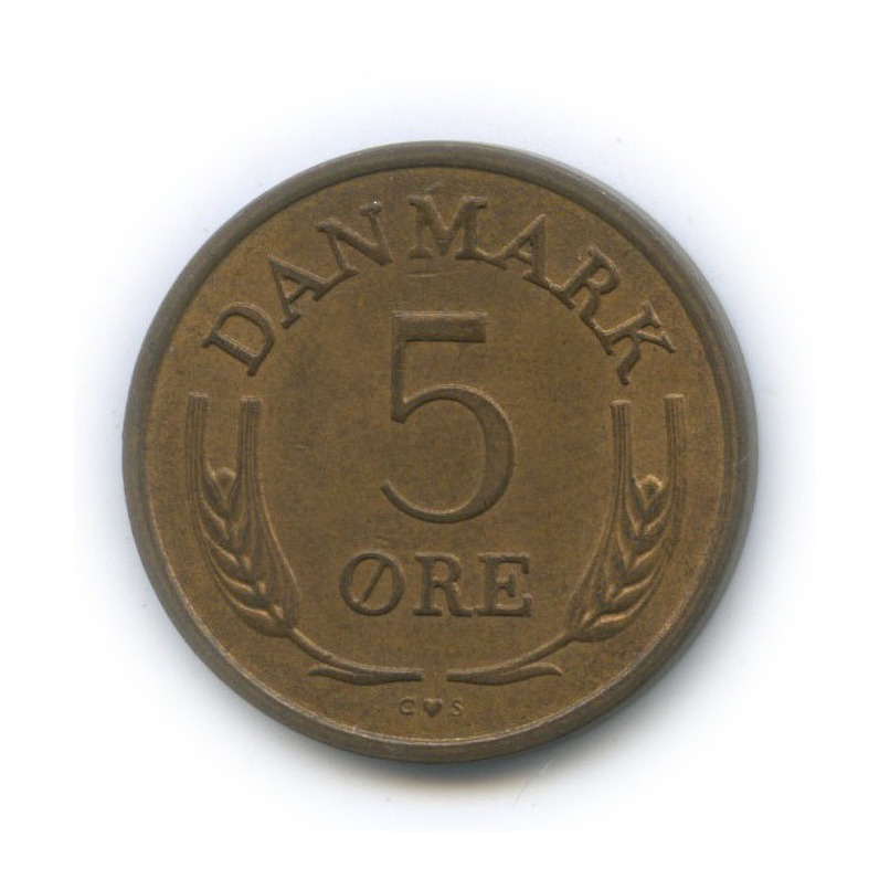 5 эре 1967 года (Дания)