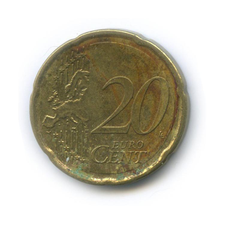 20 центов 2008 года (Кипр)