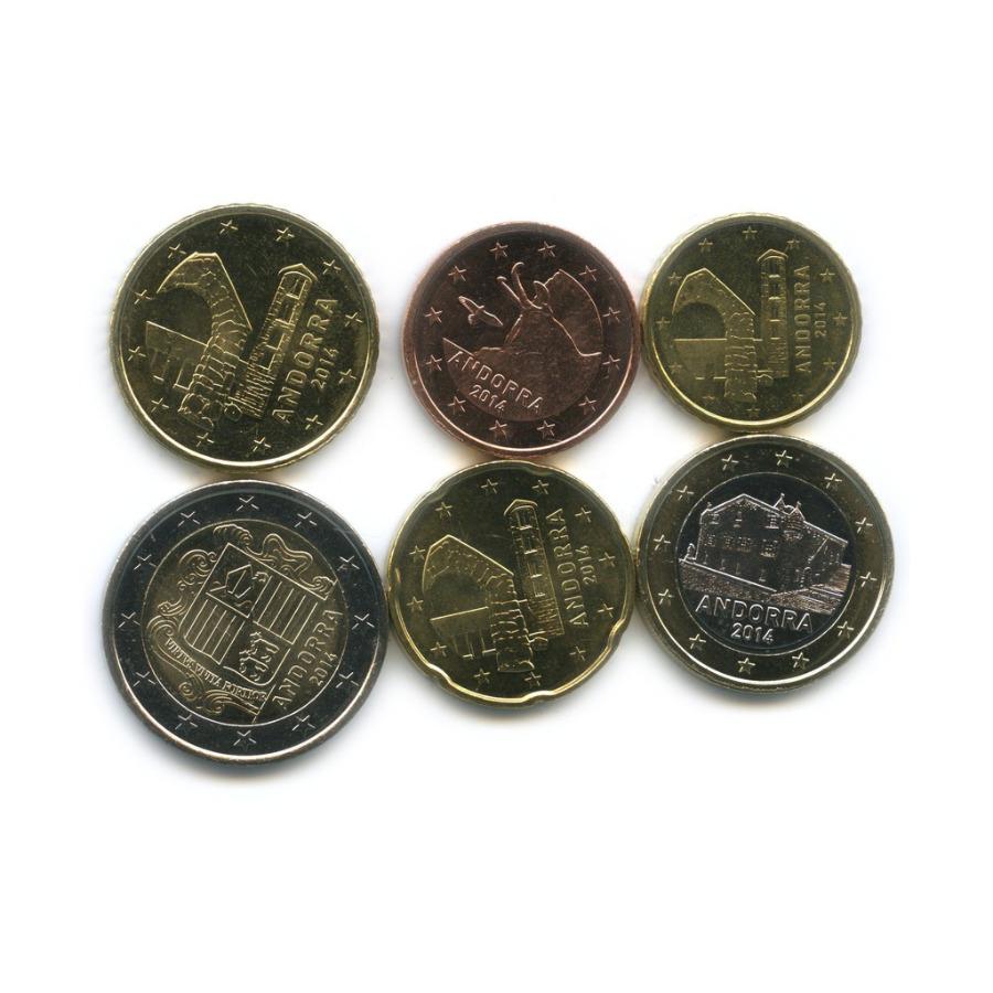 Набор монет (Андорра) 2014 года