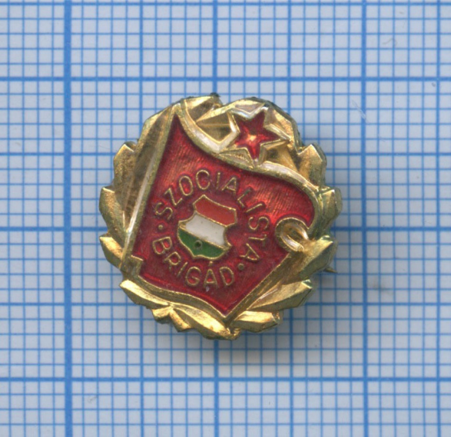 Знак «Szocialista Brigad» (Болгария)