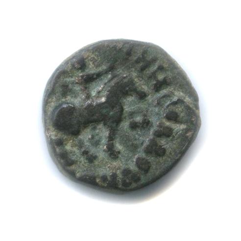 АЕдрахма - Азес II, Индо-Скифия, I век до н. э., царь/Зевс