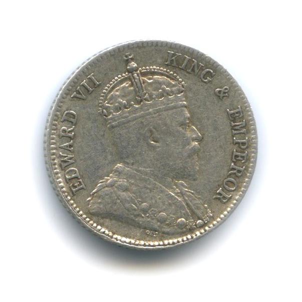 25 центов, Восточная Африка иУганда 1910 года
