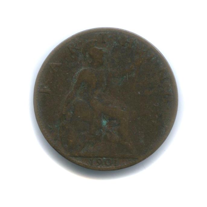 1 фартинг 1901 года (Великобритания)