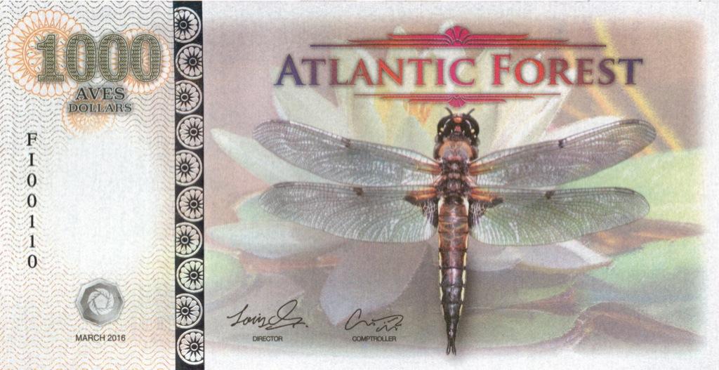1000 долларов (Атлантический лес) 2016 года