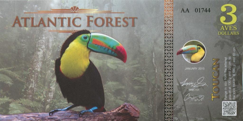 3 доллара (Атлантический лес) 2015 года