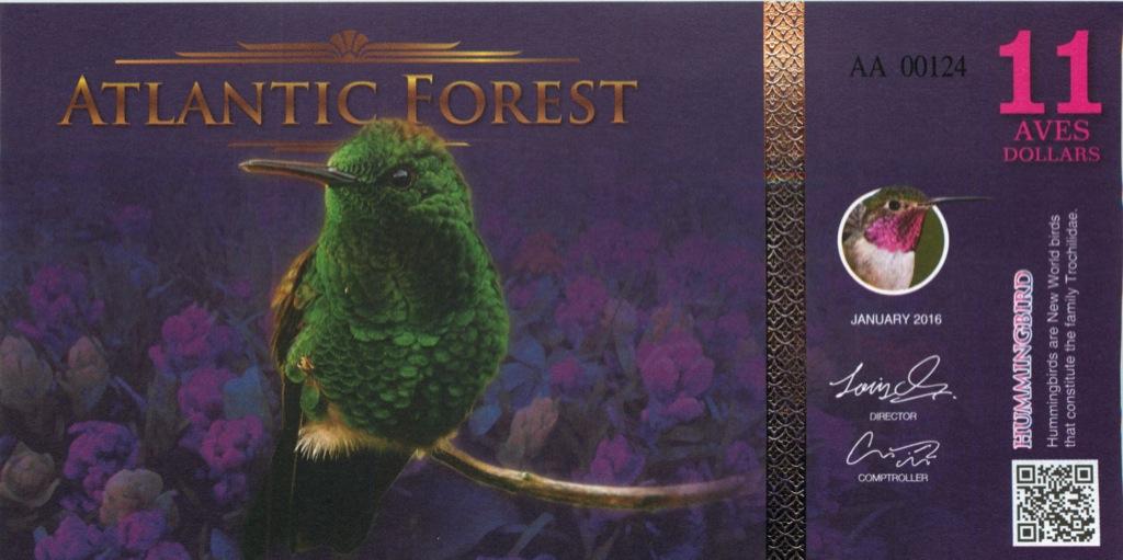 11 долларов (Атлантический лес) 2016 года