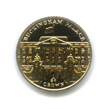 1/64 кроны - Букингемский дворец, Остров Мэн 2010 года
