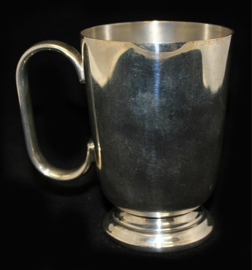 Кружка (серебрение, 10 см) (Великобритания)