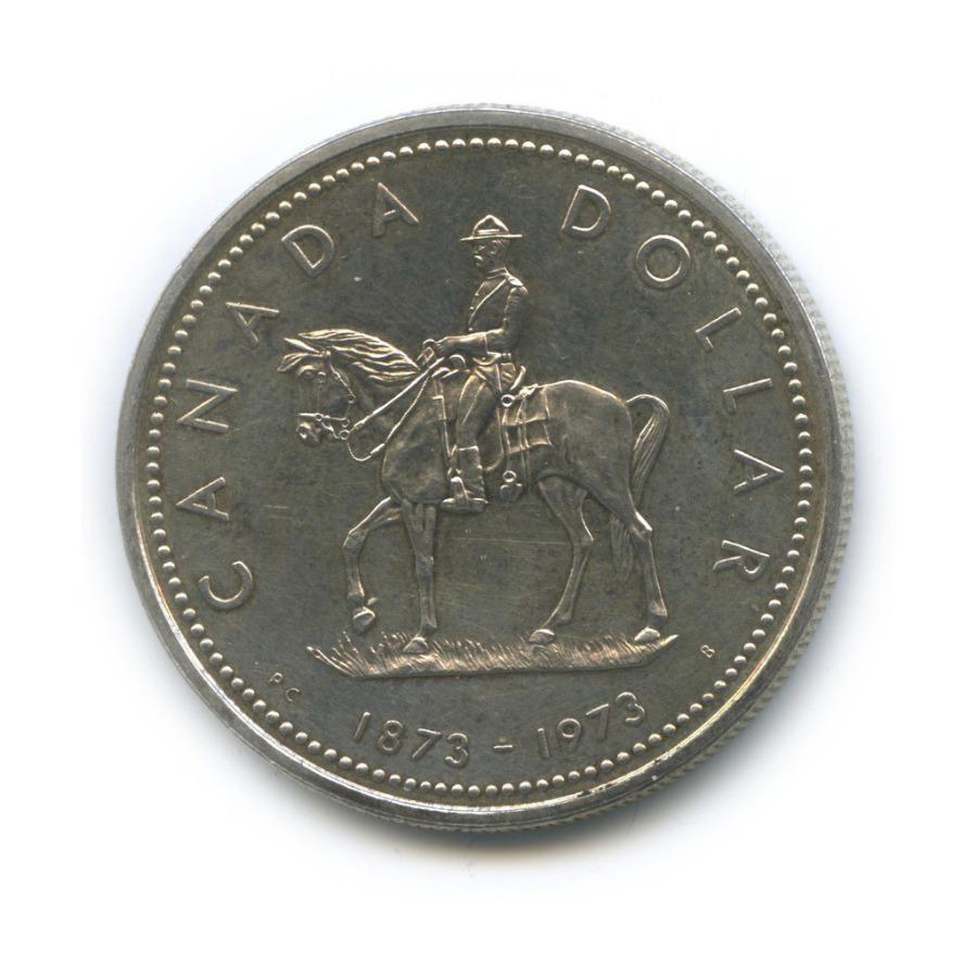 1 доллар — 100 лет содня присоединения острова Принца Эдуарда 1973 года (Канада)