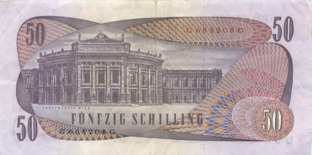 50 шиллингов 1970 года (Австрия)