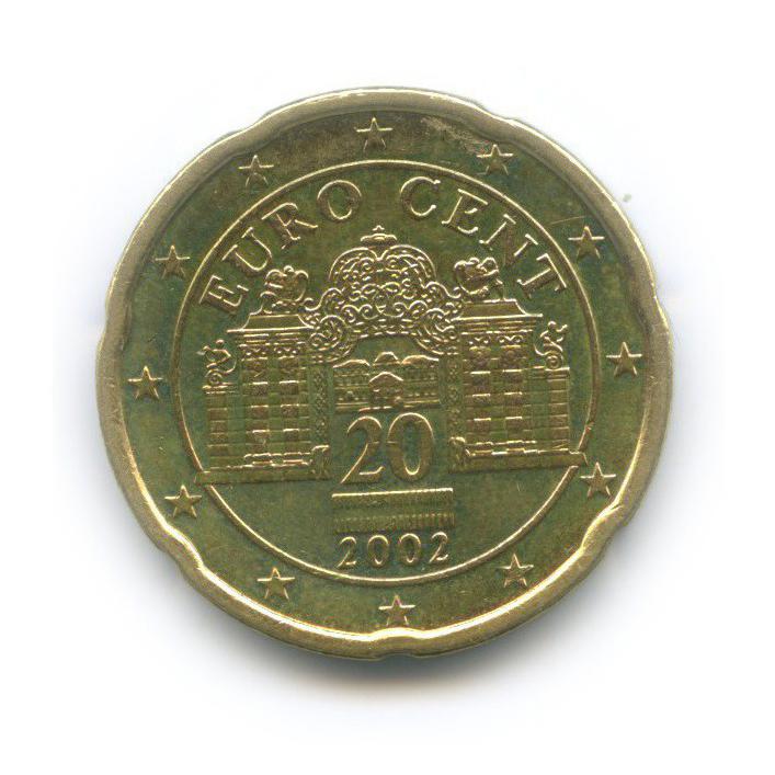 20 центов 2002 года (Австрия)