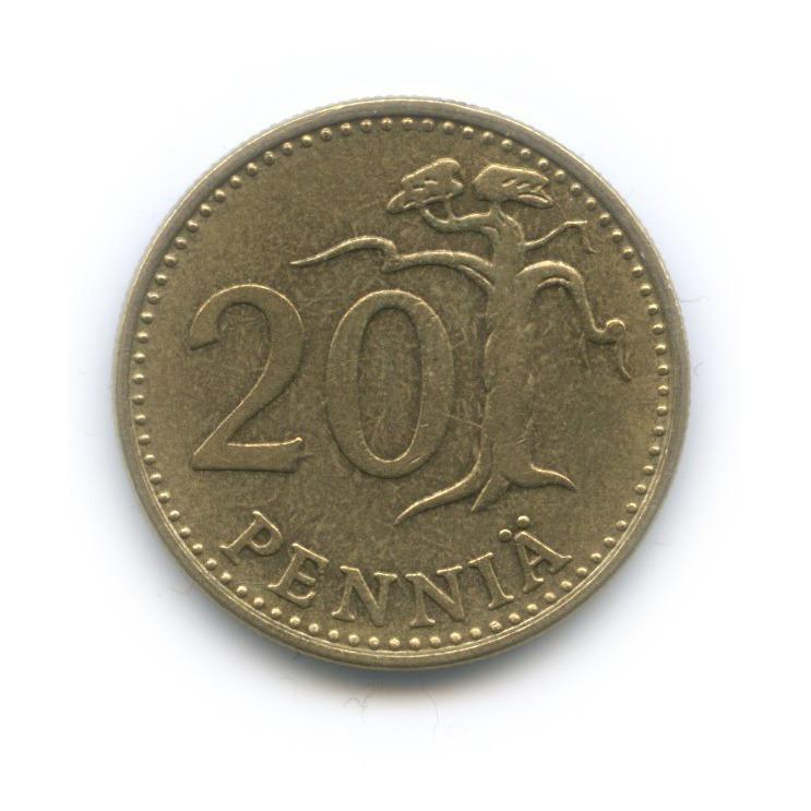 20 пенни 1966 года (Финляндия)