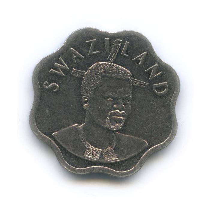 10 центов, Свазиленд 2002 года