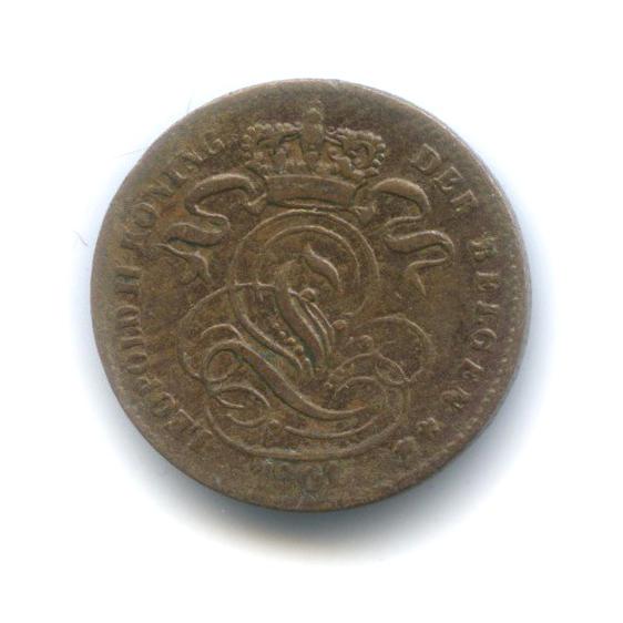 1 сантим 1901 года (Бельгия)