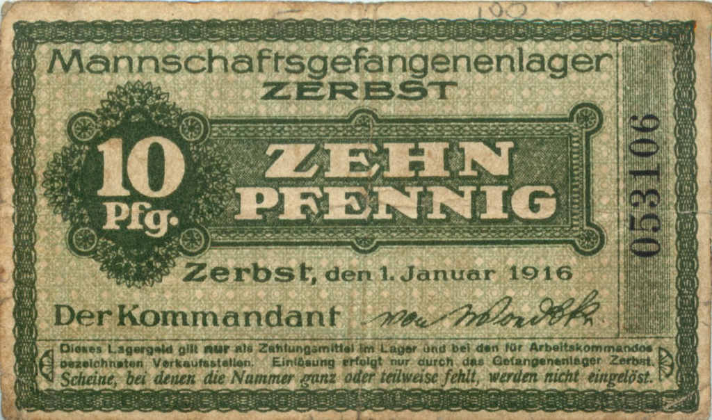 10 пфеннигов 1916 года (Германия)