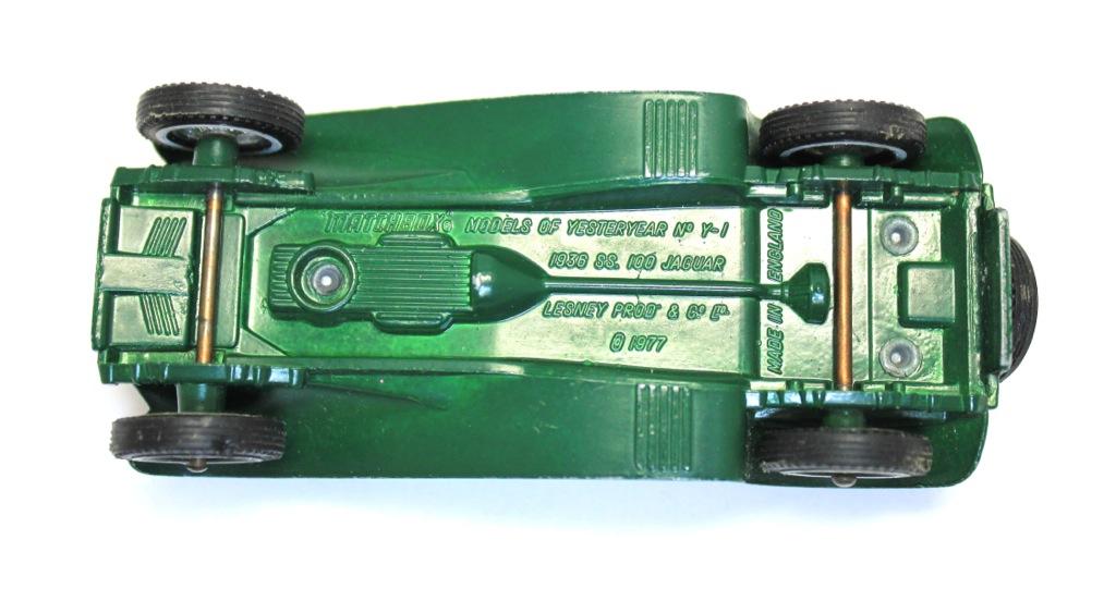Модель машины «Matchbox - Lesney - S. S. Jaguar» (11 см) 1977 года (Великобритания)