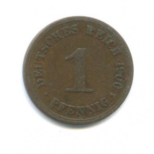 1 пфенниг 1900 года А (Германия)