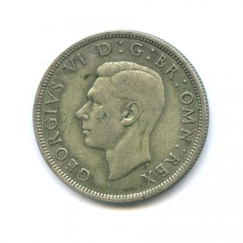 ½ кроны 1942 года (Великобритания)