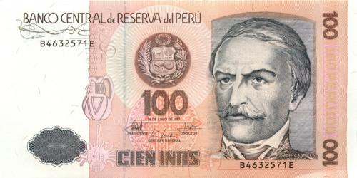 100 инти 1987 года (Перу)