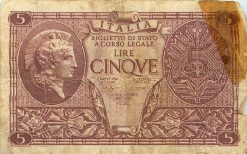 5 лир (Италия)