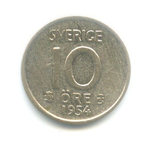10 эре 1954 года (Швеция)