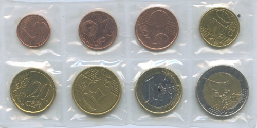 Набор монет (взапайке) 2008 года (Кипр)