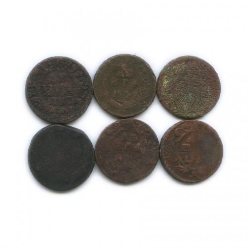 Набор монет Российской Империи (XVIII в.) (Российская Империя)