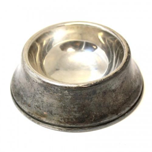 Солонка (глубокое серебрение, клейма: «REGIS PLATE», «ENGLAND», «№436»; диаметр 7,6 см) (Великобритания)