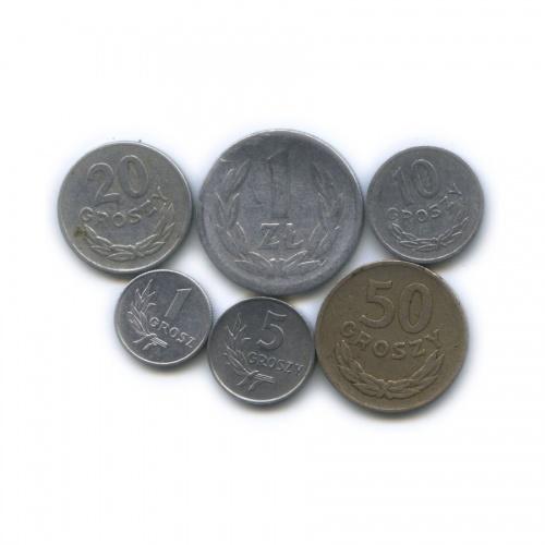 Набор монет 1949, 1970 (Польша)