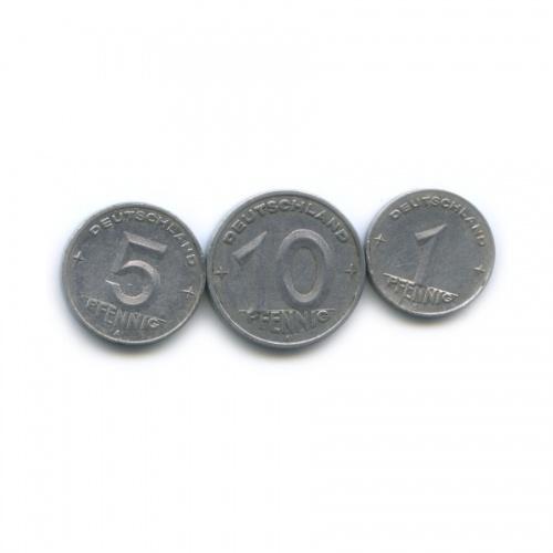Набор монет 1949, 1950 (Германия (ГДР))