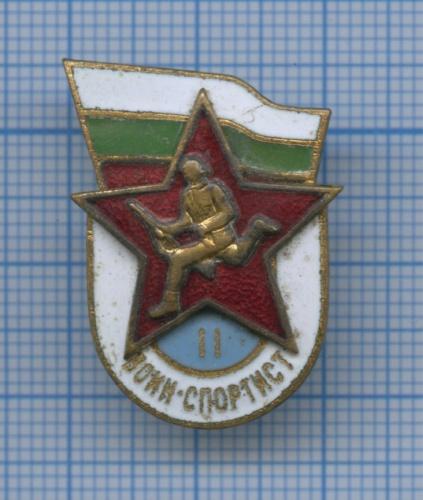 Знак «Воин-спортсмен», 2-я степень (тяжелый) (СССР)