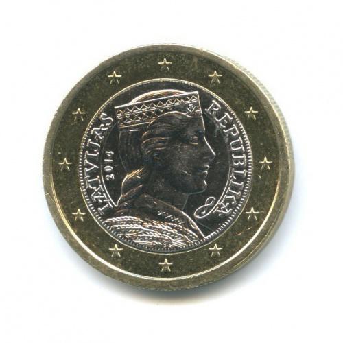 1 евро 2014 года (Латвия)