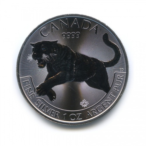 5 долларов - Год Тигра 2016 года (Канада)