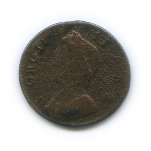 1 фартинг - Георг II 1743(?) (Великобритания)