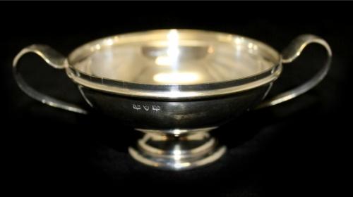 Конфетница «Barker Bros» (серебрение 3,7×11,5 см) (Великобритания)