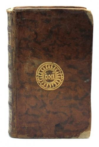 Книга «Les caractères deThéophraste. Avec les caractères oules mœurs decesiècle, par M. deLaBruyère», Париж (479 стр.) 1750 года (Франция)