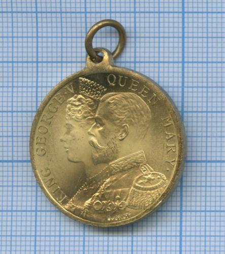 Медаль «Коронация Короля Георга VиКоролевы Марии» (Великобритания)