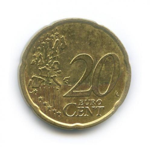 20 центов 2002 года (Ирландия)