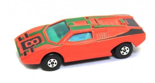 Модель машины «Matchbox - Rola-matics - Lesney - №27 Lamborghini countach» (8 см) 1973 года (Великобритания)