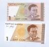 Набор банкнот 1 сом 1994, 1995 (Киргизия)