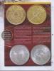 Набор монет 5 гуарани, 1 сантим - Парагвай, Андорра (сзапечатанным журналом «Монеты ибанкноты» №44)