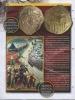 Набор монет 2 тоа, 1 цент - Папуа - Новая Гвинея, Нидерланды (сзапечатанным журналом «Монеты ибанкноты» №36)