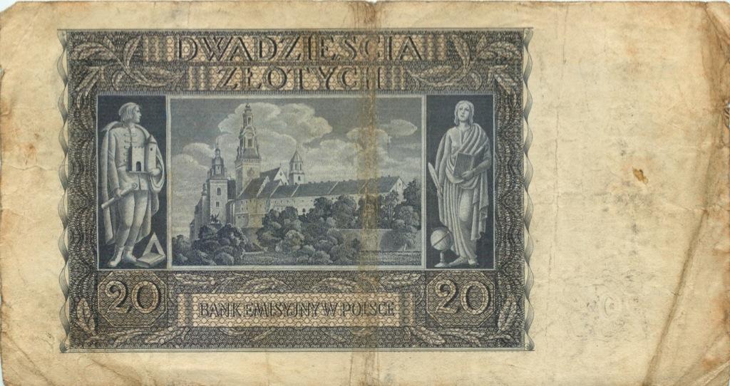 20 злотых 1940 года (Польша)