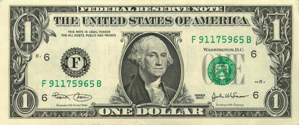 1 доллар 2003 года (США)