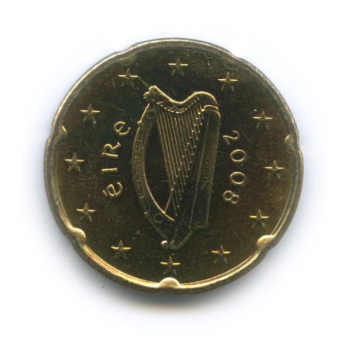 20 центов 2008 года (Ирландия)
